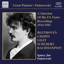 Paderewski - A Selectino of His US Victor Recordings, CD