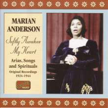 Marian Anderson: Softly Awakes My Heart, CD