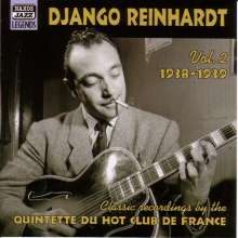 Django Reinhardt  (1910-1953): Classic Recordings Vol.2, CD