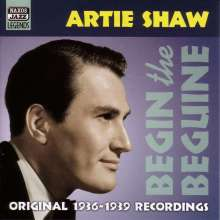 Artie Shaw  (1910-2004): Begin The Beguine - 1936 - 1939 Recordings, CD