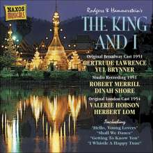Richard Rodgers  (1902-1979): The King And I, CD