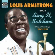 Louis Armstrong  (1901-1971): Sing It, Satchmo, CD