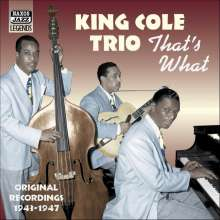 King Trio Cole: That´s What, CD