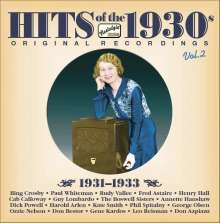 Various Artists: Hits Of The 1930s Vol. 2, CD