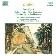 Edvard Grieg (1843-1907): Peer Gynt-Suiten Nr.1 & 2, CD