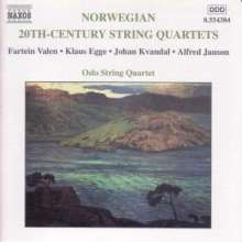 20th Century Norwegian String Quartets, CD