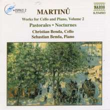 Bohuslav Martinu (1890-1959): Werke für Cello & Klavier Vol.2, CD