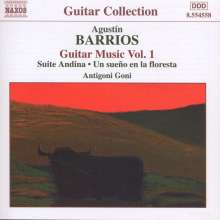 Agustin Barrios (1885-1944): Gitarrenwerke Vol.1, CD