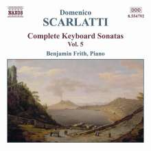 Domenico Scarlatti (1685-1757): Klaviersonaten Vol.5, CD