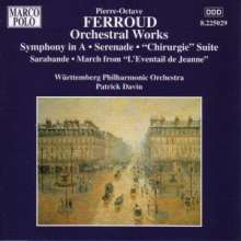 Pierre-Octave Ferroud (1900-1936): Symphonie in A, CD