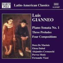 Luis Gianneo (1897-1968): Klavierwerke Vol.3, CD