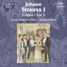 Johann Strauss I (1804-1849): Johann Strauss Edition Vol.8, CD