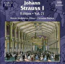Johann Strauss I (1804-1849): Johann Strauss Edition Vol.21, CD