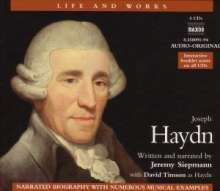 Life and Works - Joseph Haydn (in engl.Spr.), 4 CDs