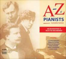 A-Z of Pianists (4CD & Buch), 4 CDs
