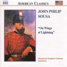John Philip Sousa (1854-1932): Orchesterwerke Vol.3: On Wings of Lightning, CD