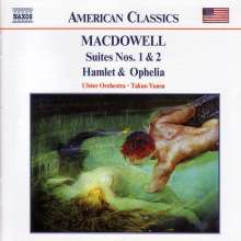 Edward MacDowell (1861-1908): Orchestersuiten Nr.1 & 2, CD