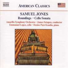 Samuel Jones (geb. 1935): Cellosonate, CD
