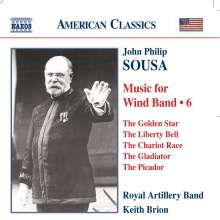 John Philip Sousa (1854-1932): Music for Wind Band Vol.6, CD