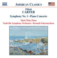 Elliott Carter (geb. 1908): Symphonie Nr.1, CD
