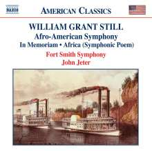 William Grant Still (1895-1978): Symphonie Nr.1 (Afro-American), CD