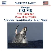 George Crumb (geb. 1929): Vox Balaenae (Voice of the Whale), CD