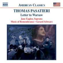 Thomas Pasatieri (geb. 1945): Letter to Warsaw, CD