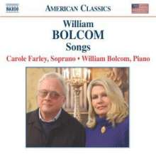 William Bolcom (geb. 1938): Songs, CD