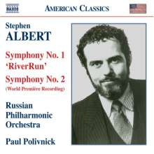 Stephen Albert (1941-1992): Symphonien Nr.1 & 2, CD