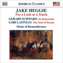 Jake Heggie (geb. 1961): For a Look or a Touch, CD