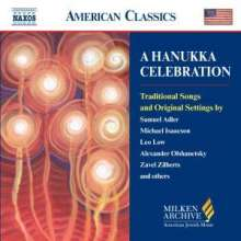 A Hanukka Celebration - Traditionelle Lieder & Originalsätze, CD
