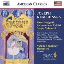 Great Songs of the Yiddish Stage Vol.3, CD