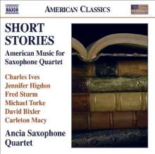 Ancia Saxophone Quartet - Short Stories, CD