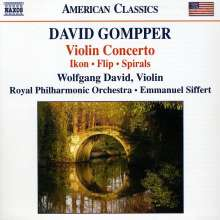 David Gompper (geb. 1954): Violinkonzert (2009), CD