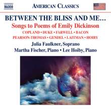 Julia Faulkner - Between The Bliss And Me, CD