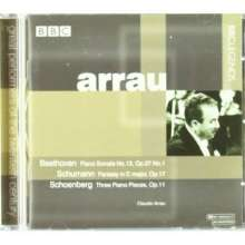 Claudio Arrau,Klavier, CD