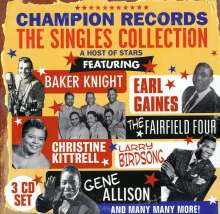 Various Artists: Champion Records: The Singl..., 3 CDs