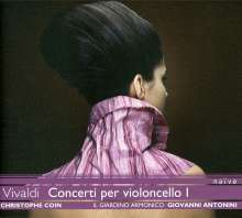 Antonio Vivaldi (1678-1741): Cellokonzerte I, CD