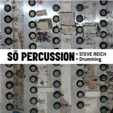 Steve Reich (geb. 1936): Drumming Parts I-IV, CD