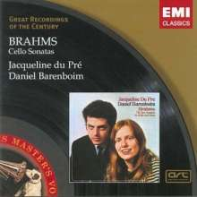 Johannes Brahms (1833-1897): Cellosonaten 1 & 2, CD