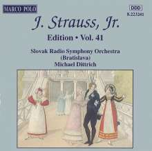 Johann Strauss II (1825-1899): Johann Strauss Edition Vol.41, CD