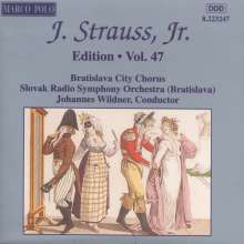 Johann Strauss II (1825-1899): Johann Strauss Edition Vol.47, CD