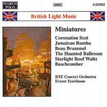 British Light Music Miniatures, CD