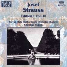 Joseph Strauss (1827-1870): Joseph Strauss Edition Vol.10, CD