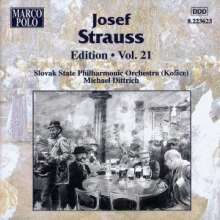 Joseph Strauss (1827-1870): Joseph Strauss Edition Vol.21, CD