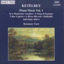 Albert Ketelbey (1875-1959): Klavierwerke Vol.1, CD