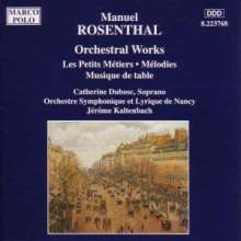 Manuel Rosenthal (1904-1994): Musique de Table, CD