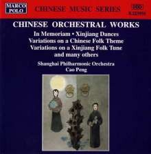 Orchesterwerke aus China, CD