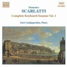 Domenico Scarlatti (1685-1757): Klaviersonaten Vol.1, CD