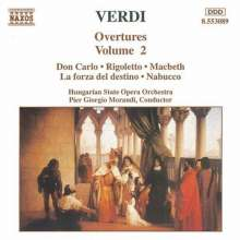 Giuseppe Verdi (1813-1901): Ouvertüren Vol.2, CD